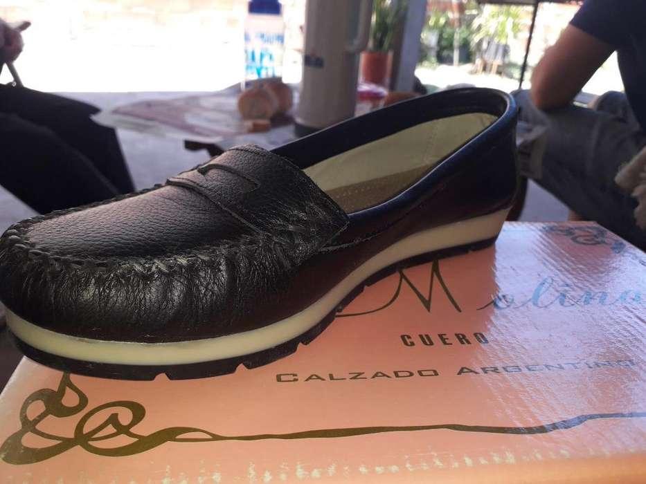 Zapatos de Mujer Cuero