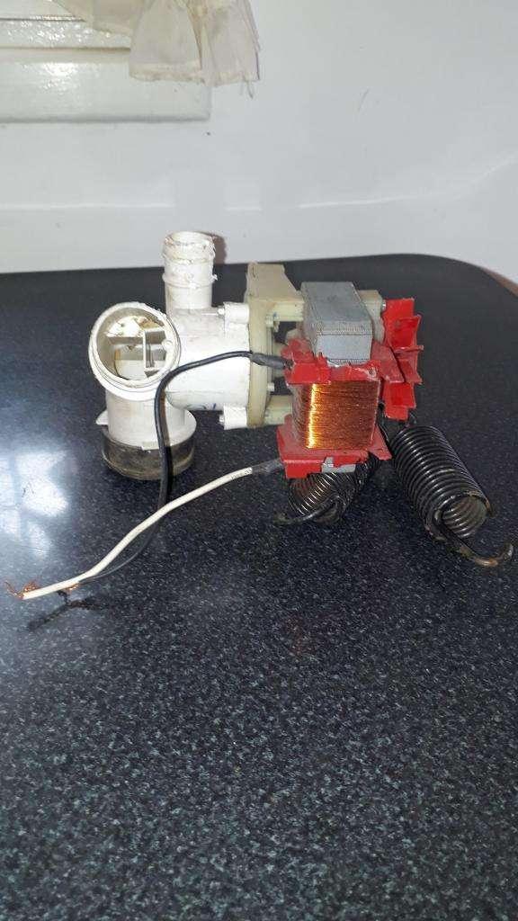Bomba de descarga eléctrica de agua de 2 20 volts para lavarropas
