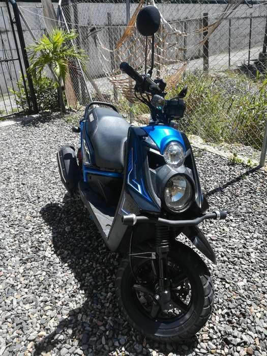 Moto Bwsx 125, 2016