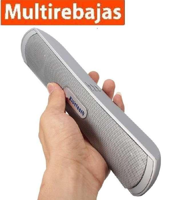 Parlante Portatil Bluetooth Speaker Potente USB Sd <strong>mp3</strong>