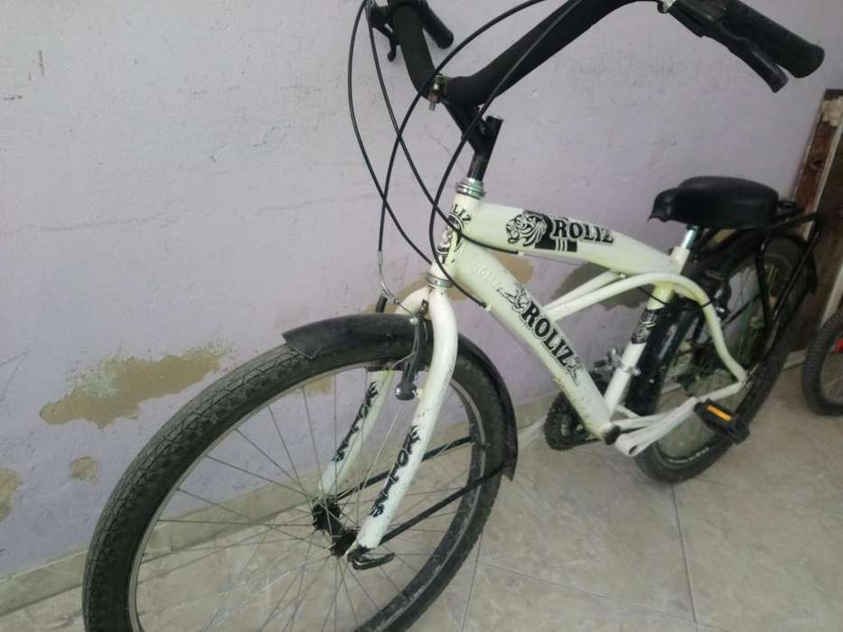 Bicicleta playera.