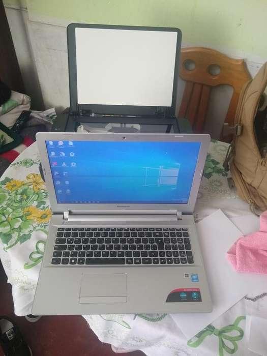 Vendo Laptop Lenovo Corei3 Impresora
