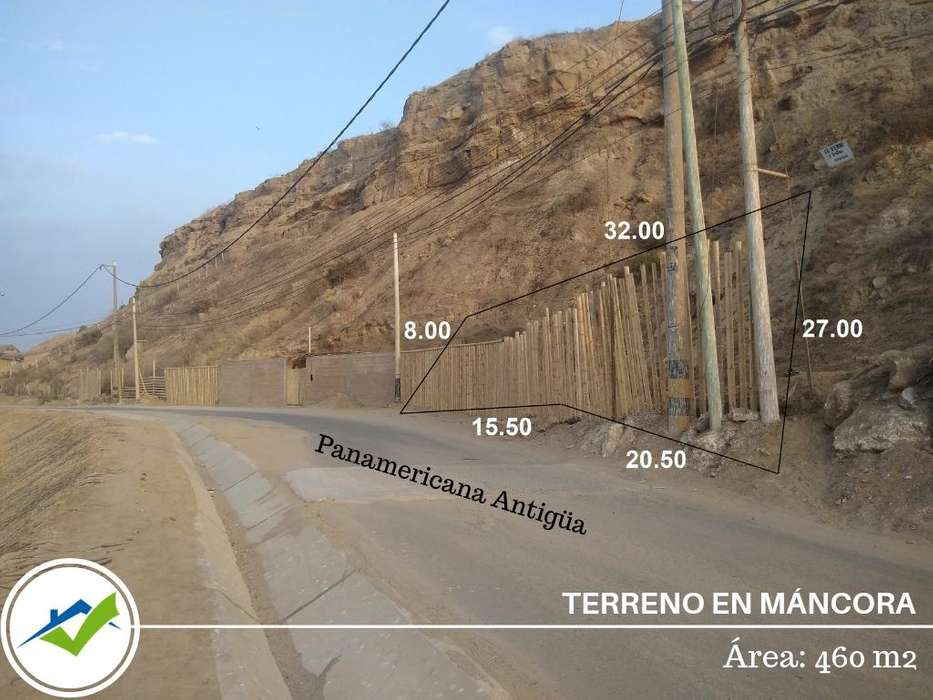 TERRENO EN MANCORA (FRENTE A DPA - FONDEPES)