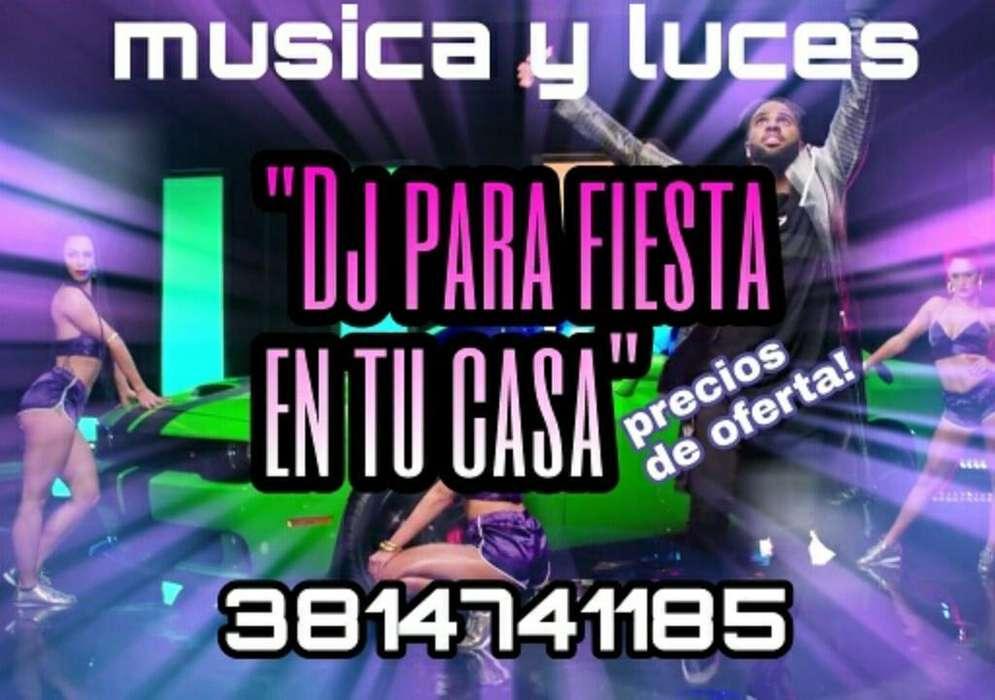 Musica Y Luces para Tu Fiest Djs Tucuman