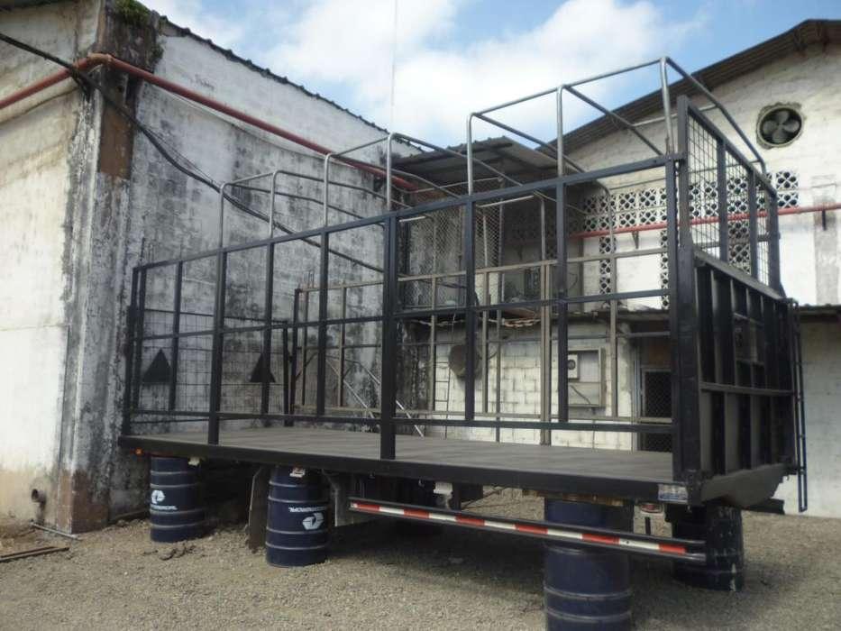Plataforma para camión (foton 8 tn)