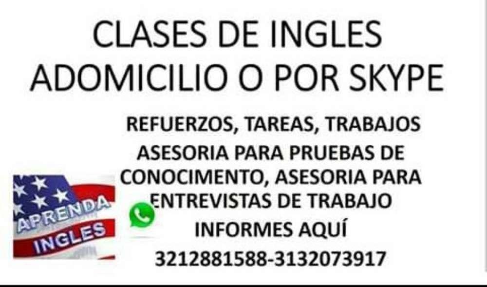 Asesorías Y Refuerzos de Ingles.