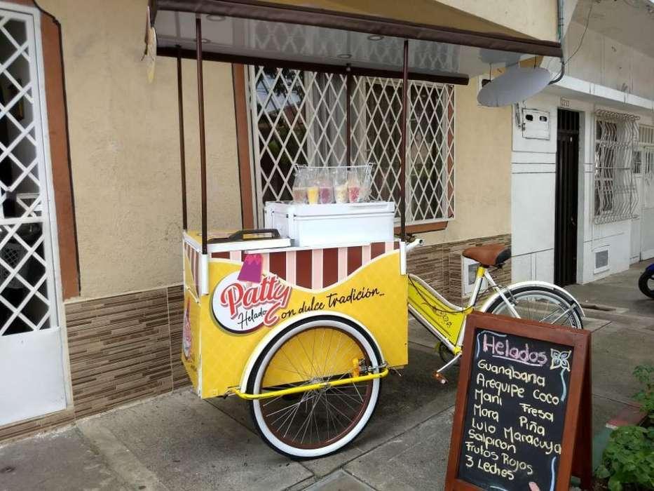 Bicicleta de Helados