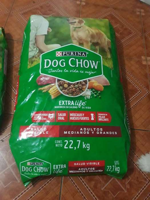 Dog Chow Adultos Medianos Y Grandes 22.7