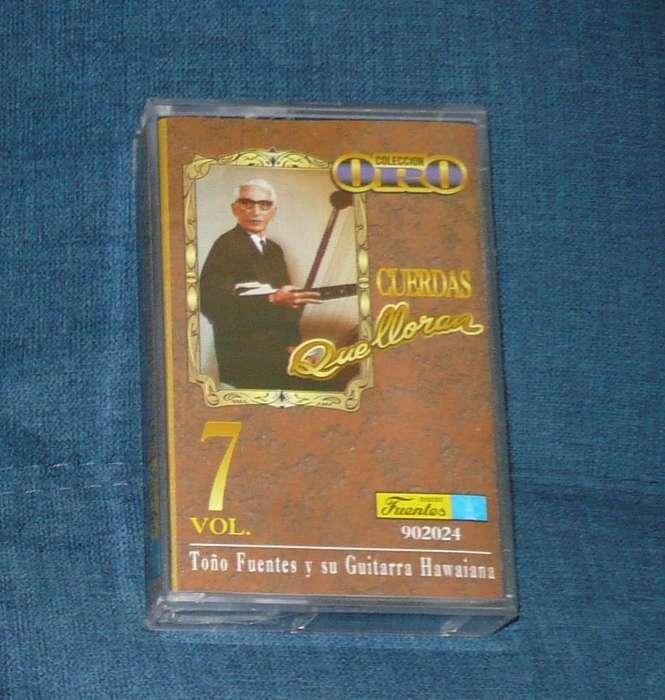 Toño Fuentes Cuerdas Que Lloran Vol 7 Cassette, casete