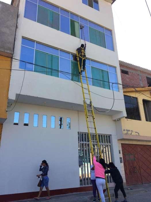 Centro EDIFICIO de 4 pisos