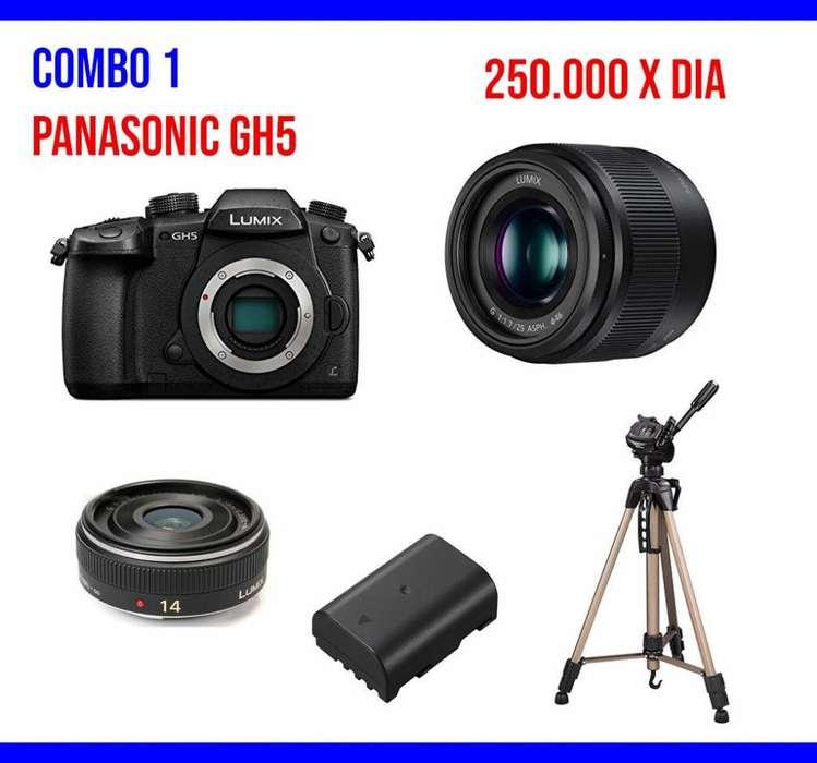 <strong>panasonic</strong> Gh5 sony a7III alquiler de equipos de video 4k
