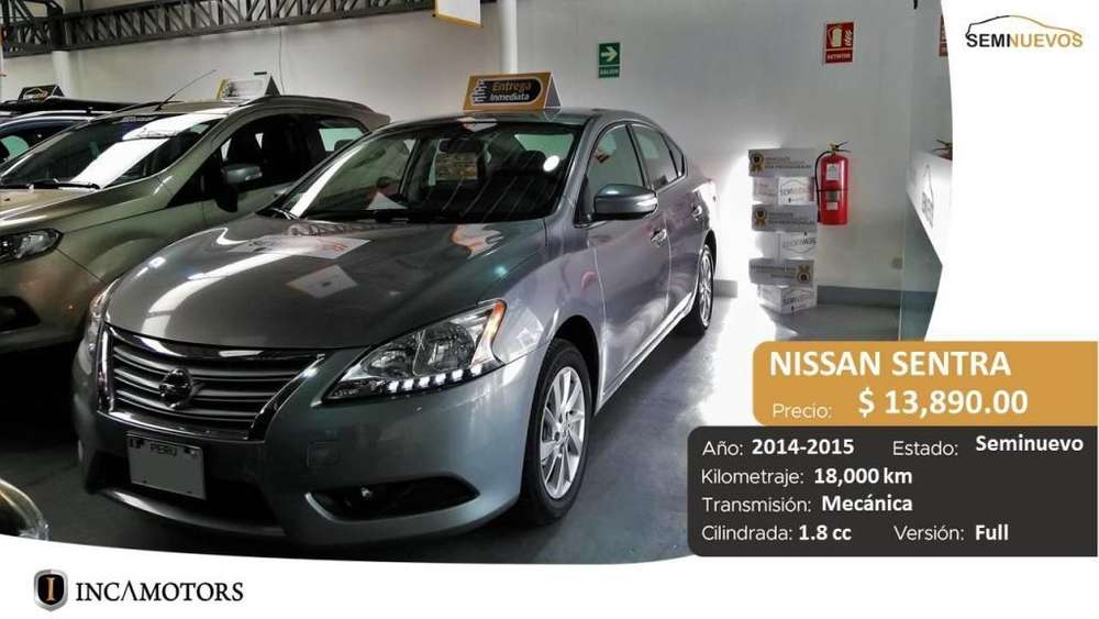Nissan Sentra 2014 - 18000 km