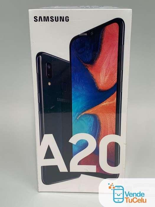 Samsung Galaxy A20 • Nuevo/Sellado • Puedes Dejar tu Celular en Parte de Pago • VendeTuCelu