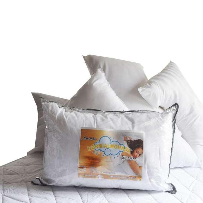 Almohada Blanca Hotelera Dormialmohada 70x50cm VENTA AL POR MAYOR