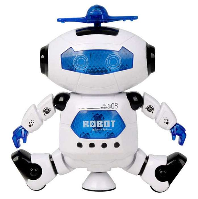 JUGUETE Robot Dancing Bailarin Musical