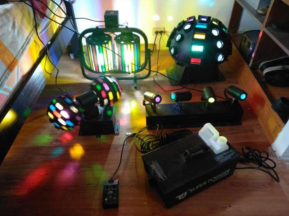 Set de Luces Para Eventos o Discoteca