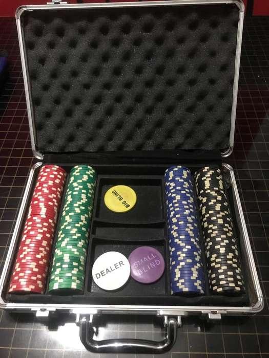 Maletin con Fichas de Poker