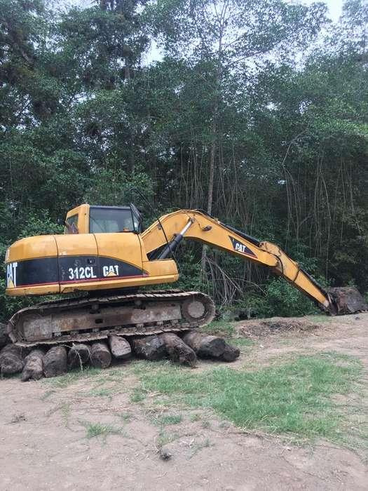 Se vende Excavadora 312CL año 2006