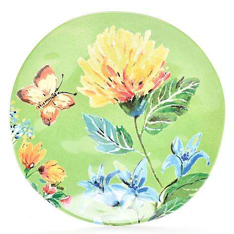 Plato Ensalada 22 cm Verde Daisy