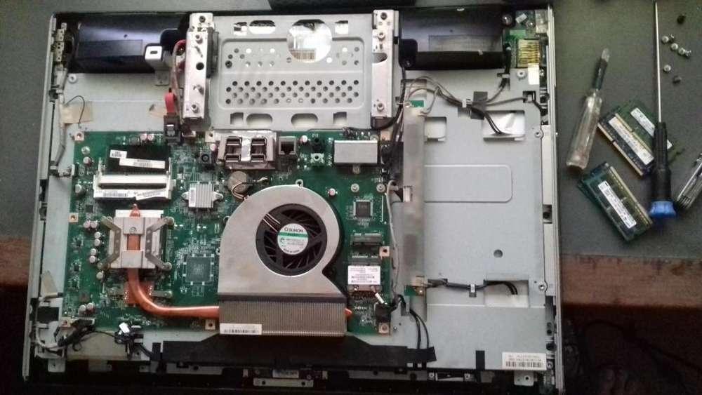 Vendo partes HP Smartouch 310 <strong>pc</strong>