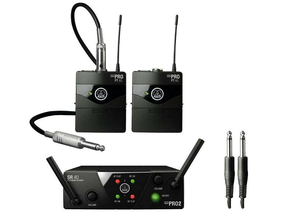 Sistema Inalámbrico Wms 40 Pro Mini