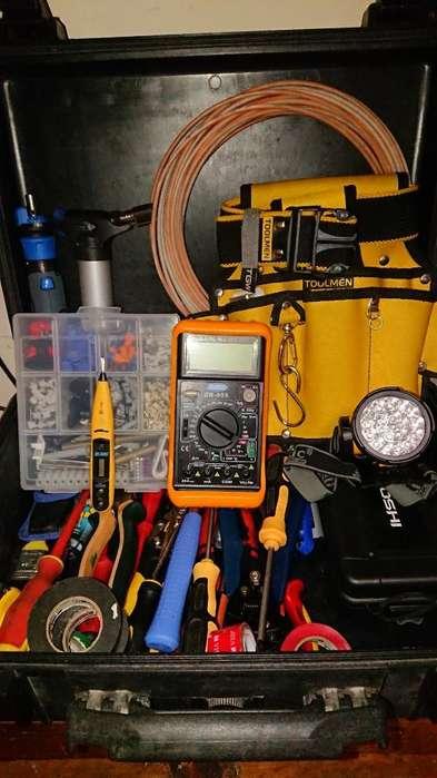 Maletin para Electricista con Acc