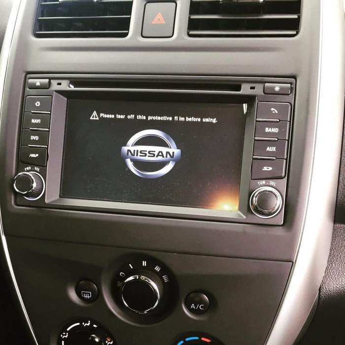 NISSAN VERSA ESTEREO CENTRAL MULTIMEDIA STEREO CON ANDROID, GPS, BLUETOOTH