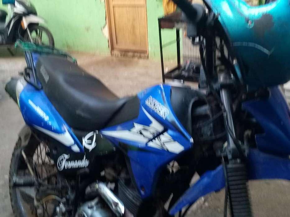 Moto Ranger Azul 2016