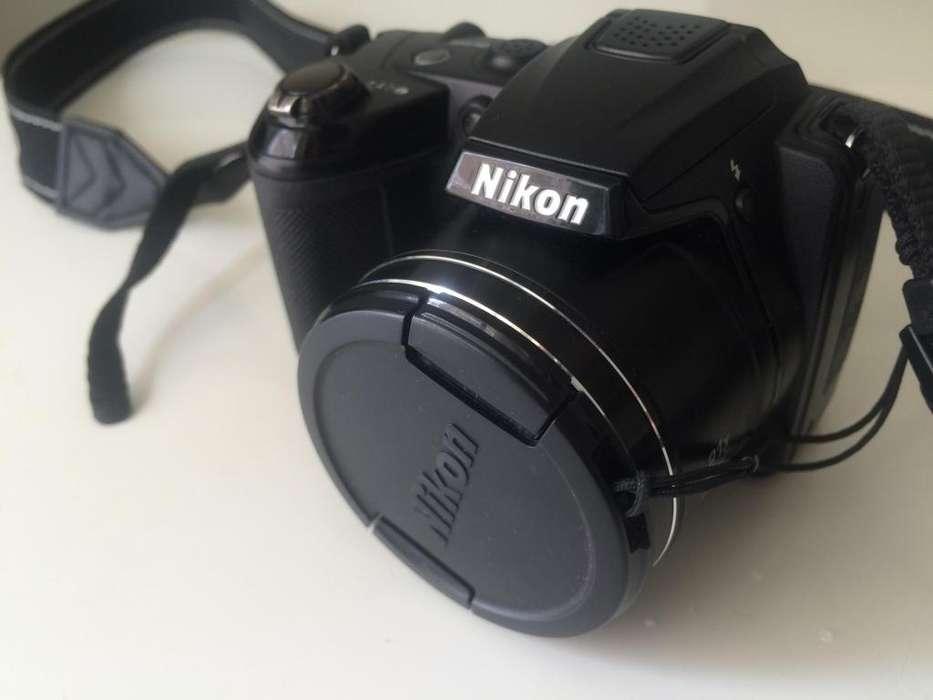 camara nikon L310, 14 megapixeles