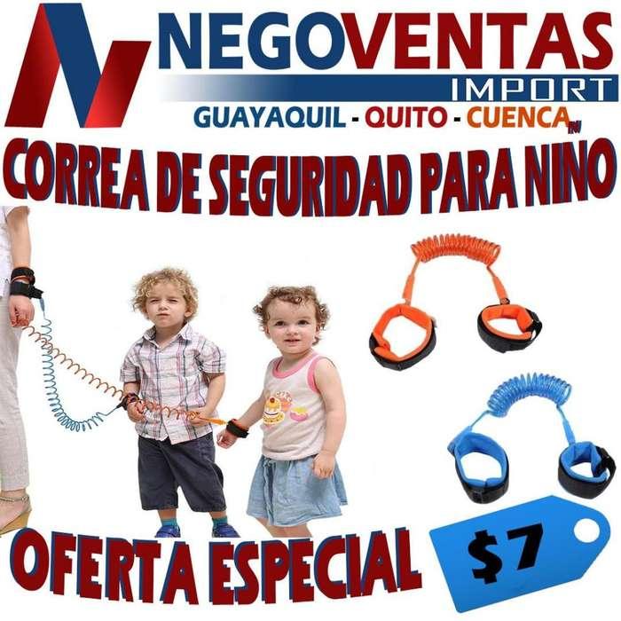 CORREA DE SEGURIDAD PARA NIÑO
