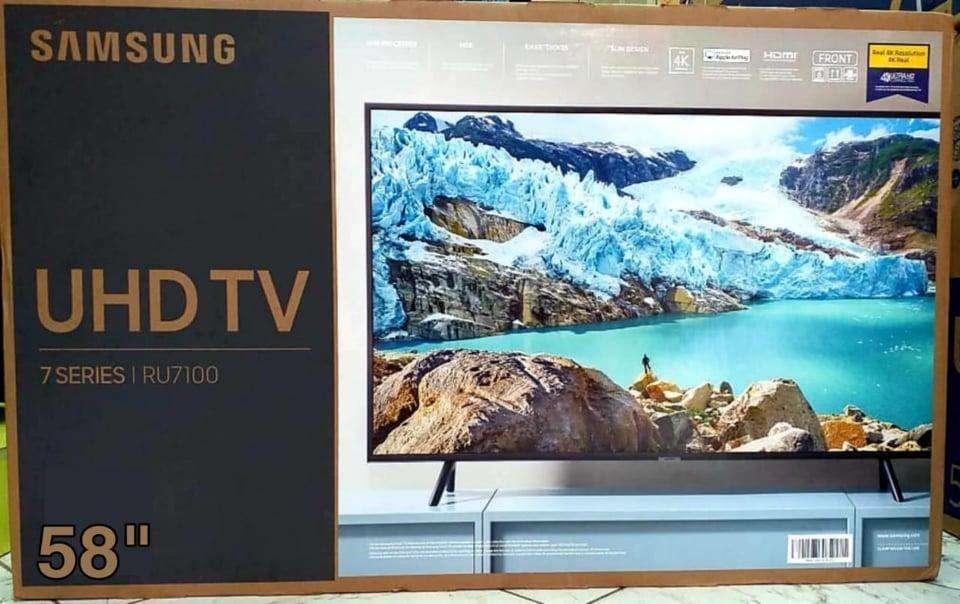 samsung smart 58 4k ru7100 2019 nuevas de paquete