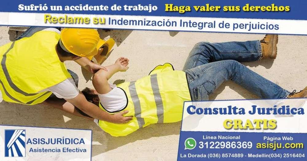 Abogados experto Especializados en reclamar Derecho Indemnización por accidente laboral Daños y Perjuicios