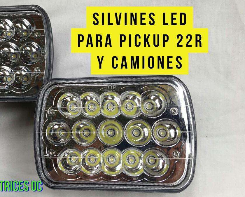 SILVINES LED CON SISTEMA DE FLASHEOPARA PICK-UP