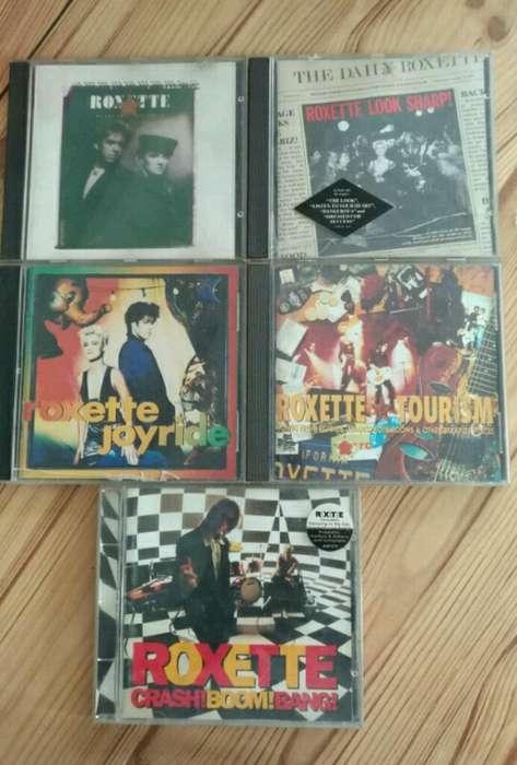 Roxette Colección de 5 Cds Originales