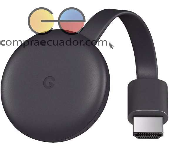 Chromecast 3 Google Conviertidor Tv En Smart Tv