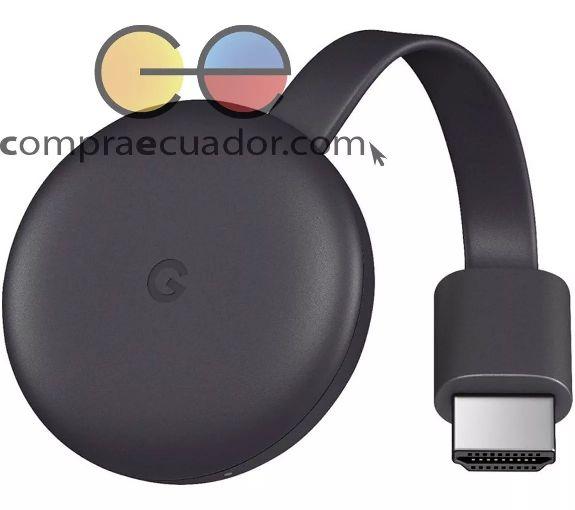 Chromecast 3 Google Conviertidor Tv En Smart Tv