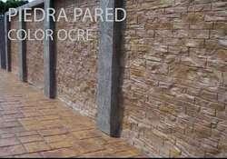 Concreto estampado pisos decorativos exteriores