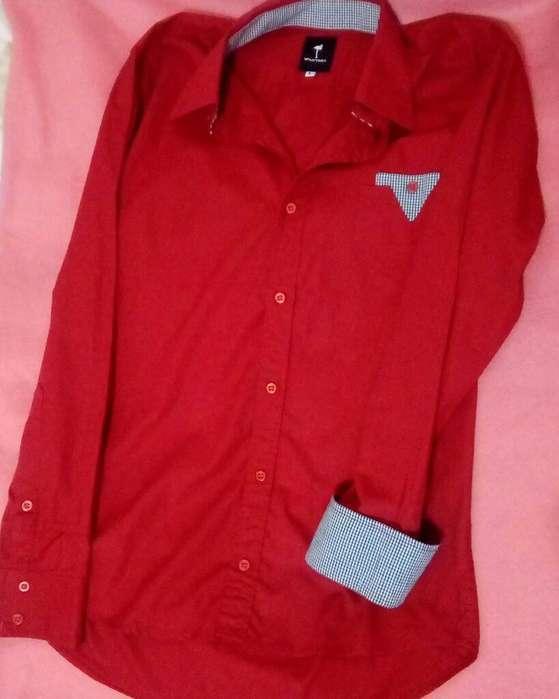 <strong>camisa</strong> Roja Hombre Valkymia Talle L