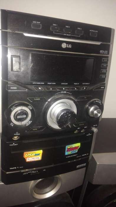 Minicomponente LG Mcd502 Hi - Fi System Lg
