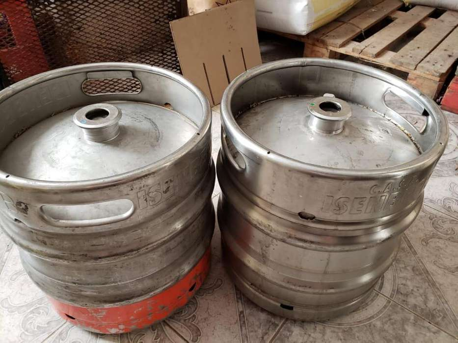 Barriles acero Inoxidables Cerveza 30 Llts