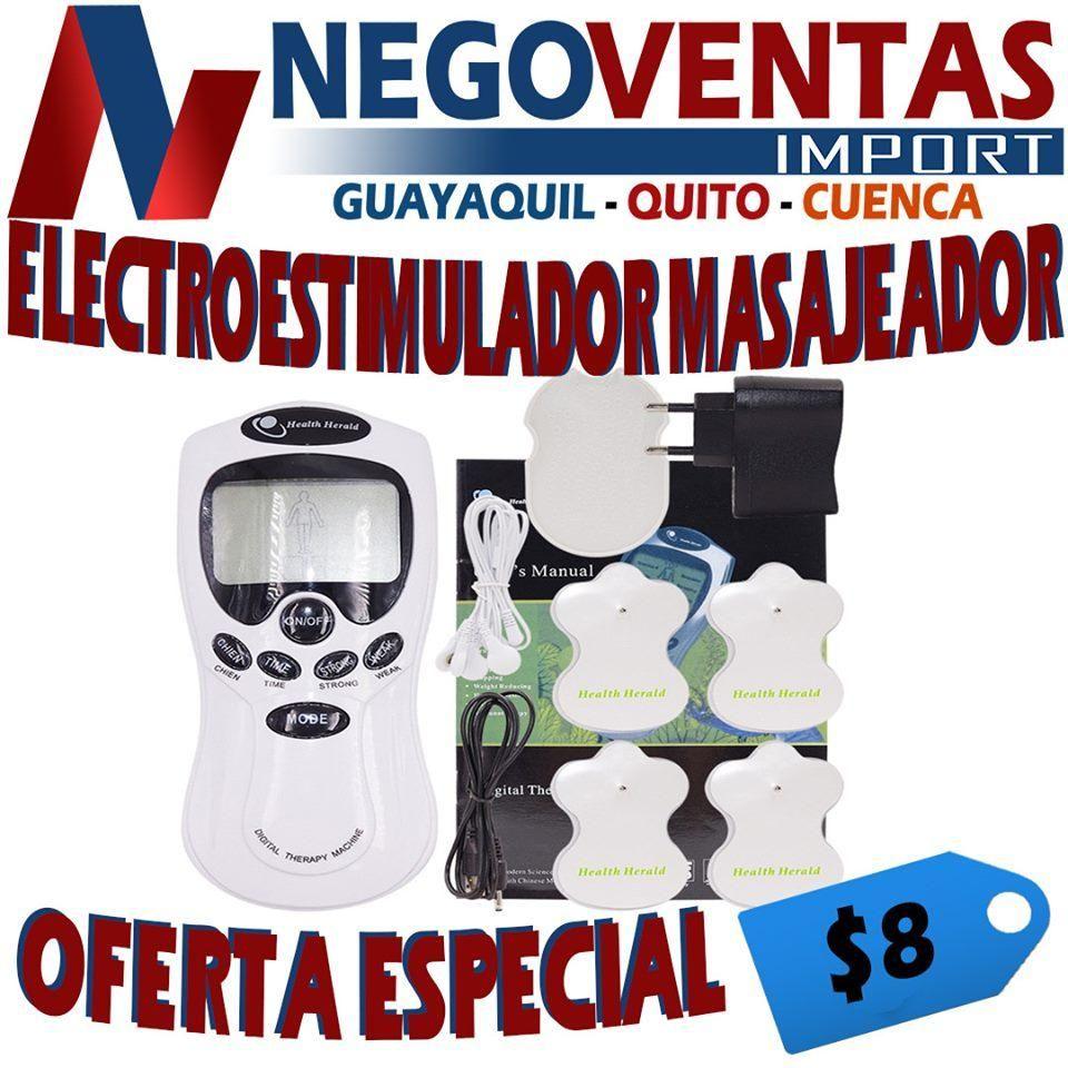 ELECTRO ESTIMULACION   INCLUYE  4 PARCHES DE OFERTA
