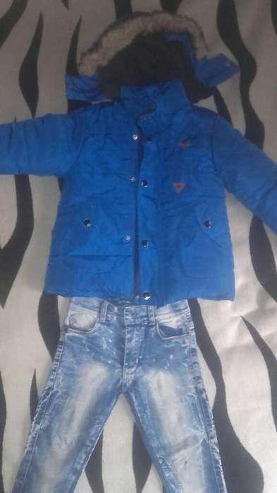 Campera Y Jeans de Nene Impecable 1000