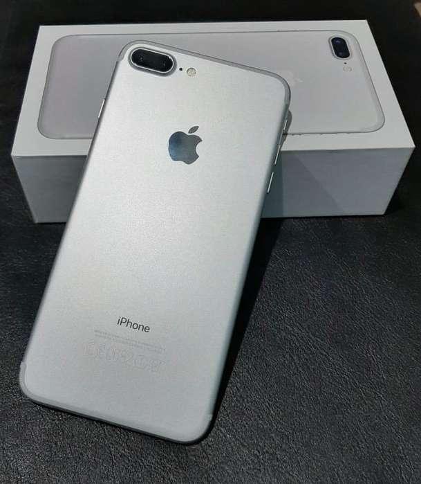 iPhone 7 Plus 128Gb Silver - Como Nuevo