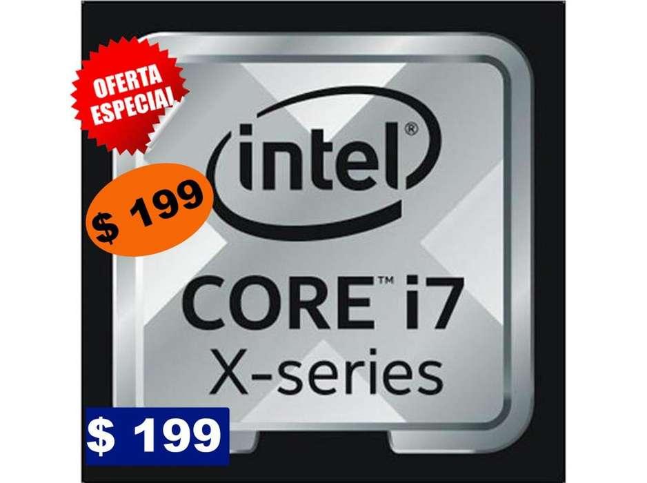 Procesador Intel core i7 serie X a 3.6GHz para LGA2011 o X79