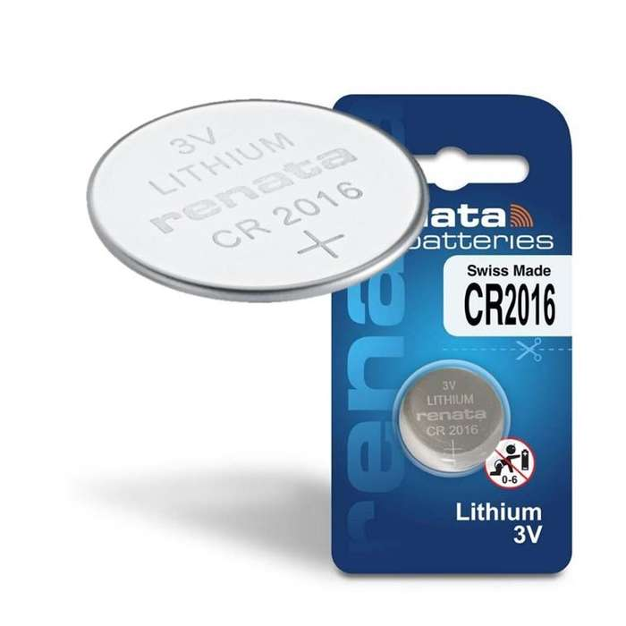 <strong>pila</strong> Litio marca Renata Cr2016 de 3v Cant 5 unidades
