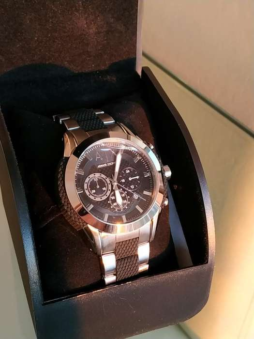 Reloj Armani Original Hombre Acero