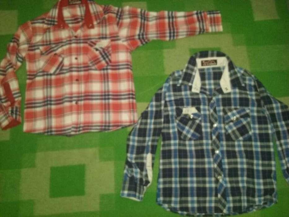Camisas Modernas de Niño T6