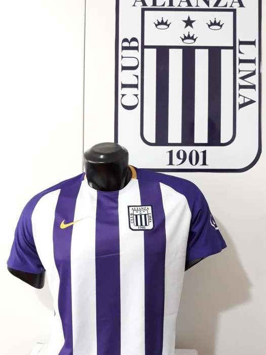Camiseta Alianza Lima 2018 Octubre