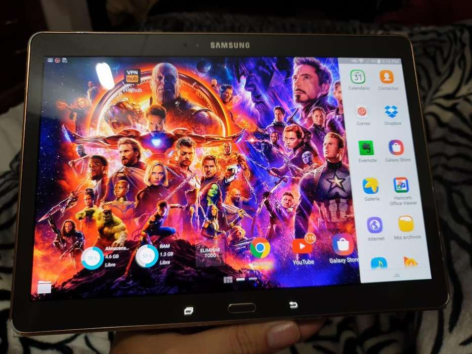 Samsung Tab S 10.5 Super Amoled 3gb Ram