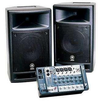 Amplificador Yamaha Stagepas 300